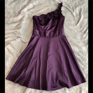 The Limited - One Shoulder Purple Dress - Size 6